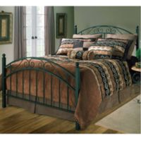 Hillsdale Willow Duo Panel King Bed Set with Rails
