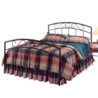 Hillsdale Wendell Black Duo Panel Full Bed Set