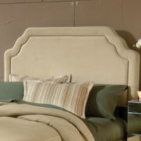 Hillsdale Carlyle Queen Headboard with Rails in Buckwheat