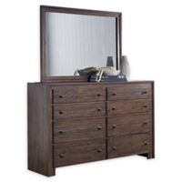 Lifestyle Solutions Camelo Mirror in Distressed Mahogany