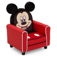 Disney® Mickey Mouse Figural Upholstered Kids Chair in Red/Black