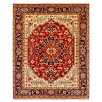 "ECARPETGALLERY One of a Kind Serapi Heritage 7'11"" x 10' Hand-Knotted Rug in Red"