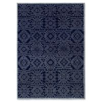 ECARPETGALLERY One of a Kind La Seda 5'4 x 7'8 Hand-Knotted Area Rug in Blue