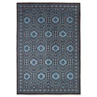 ECARPETGALLERY One of a Kind La Seda 5'3 x 7'8 Hand-Knotted Area Rug in Blue