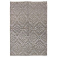 ECARPETGALLERY One of a Kind La Seda 5'3 x 7'8 Hand-Knotted Area Rug in Beige
