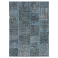 ECARPETGALLERY Color Transition Patch Hand-Knotted Area Rug