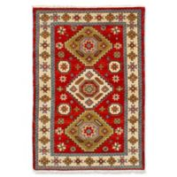 ECARPETGALLERY One of a Kind Royal Kazak 4'2 x 6' Hand-Knotted Area Rug