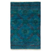ECARPETGALLERY One of a Kind Vibrance 3'10 x 6' Hand-Knotted Area Rug