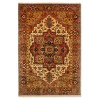 ECARPETGALLERY One of a Kind Jules-Sultane 6' x 8'10 Hand-Knotted Rug in Red/Yellow
