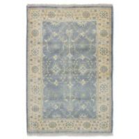 ECARPETGALLERY One of a Kind Royal Ushak 4' x 5'11 Hand-Knotted Area Rug