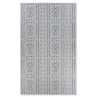 Couristan® Harper Mozambique 7'6 x 10'9 Accent Rug in Grey