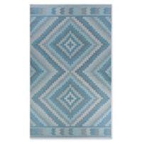 Couristan® Harper Mali 2' x 3'7 Accent Rug in Blue/Grey