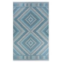 Couristan® Harper Mali 8'6 x 13' Accent Rug in Blue/Grey