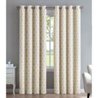 Marrakesh 108-Inch Grommet Window Curtain Panel in Linen