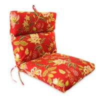 Jordan Outdoor Chair Cushion in Alberta Salsa