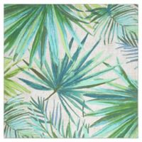 Destination Summer Palm Garden Square Placemat