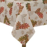 Swaying Leaves 60-Inch x 144-Inch Oblong Tablecloth in Ivory
