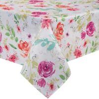 Spring Splendor Floral 60-Inch x 104-Inch Oblong Tablecloth