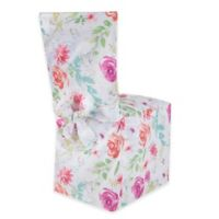 Spring Splendor Floral Dining Chair Cover
