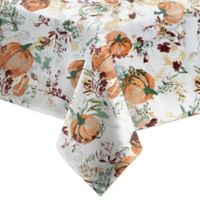Bardwil Linens Autumn Meadow 60-Inch x 84-Inch Oblong Tablecloth in Green