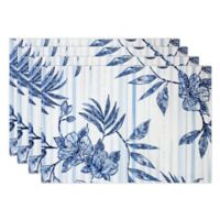Tommy Bahama® Delray Placemats in Blue (Set of 4)