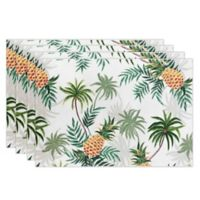 Tommy Bahama® Paraguay Pineapple Placemats (Set of 4)