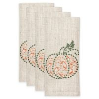 Lenox® French Perle™ Pumpkin Napkins (Set of 4)