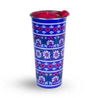Vera Bradley® Romantic Paisley 16 oz. Stainless Steel Travel Mug