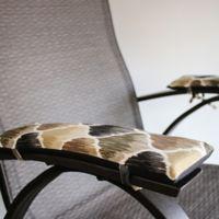 Pad Soleil Indoor/Outdoor Armrest Cushions in Tan (Set of 2)