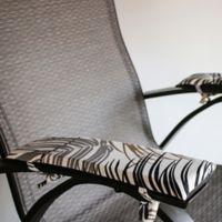 Pad Soleil Indoor/Outdoor Armrest Cushions in Grey (Set of 2)