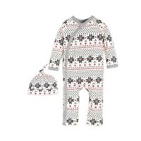 Burt's Bees Baby® Size 6M Fair Isle Kimono Coverall