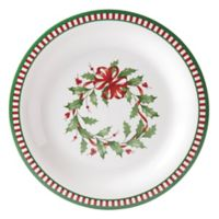 Lenox® Holiday® Melamine Stripe Dinner Plates (Set of 4)