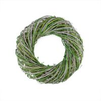Northlight 14-Inch Twig & Moss Spring Time Wreath