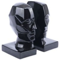 Zuo® Face Bookend in Black