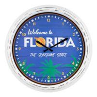 La Crosse Clock™ Florida Indoor/Outdoor Wall Clock