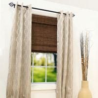 Radiance® Brooklyn 47.5-Inch x 64-Inch Cordless Bamboo Roman Shade in Cocoa