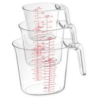 Cuisinart® 3-Piece Clear Measuring Cup Set