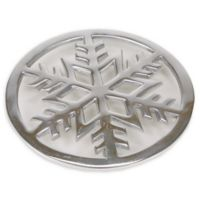 Mind Reader Cast Iron Free standing Trivet in Silver
