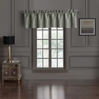 Waterford® Dimitrios Valance in Charcoal