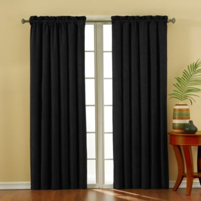 Buy Suede Curtain Panels from Bed Bath & Beyond