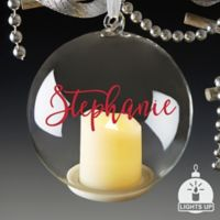 You Light Up My Life Personalized Light Up Ornament