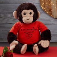 Monkeying Around Personalized Plush Monkey
