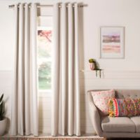 Safavieh Katerini 84-Inch Room Darkening Window Curtain Panel in Ivory