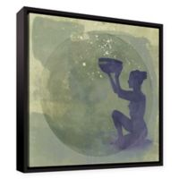 Astral Goddess 14-Inch x 14-Inch Canvas Wall Art