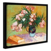 Oleander 14-Inch x 18-Inch Float Frame Canvas Wall Art