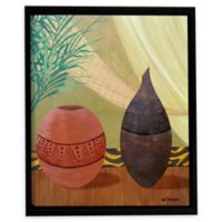 African Style I 14-Inch Square Framed Wall Art