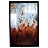 Splashy Umber 36-Inch x 48-Inch Framed Wall Art