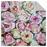 Box of Roses 24-Inch x 24-Inch Removable Wall Decal in Pink