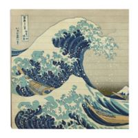 The Great Wave Off Kanagawa 36-Inch Square Pallet Wall Art