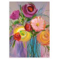 Jubilant Bouquet I 48-Inch x 36-Inch Canvas Wall Art
